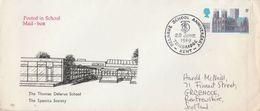 1969 Tonbridge SPASTICS SOCIETY  THOMAS DELARUE SCHOOL EVENT COVER,  Stamps Health Gb - Handicaps