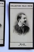 Collection Felix Potin 1908 - Milan Roi De Serbie - Photos