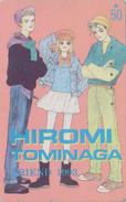 Télécarte Japon / 110-011 - MANGA - FRIEND By HIROMI TOMINAGA  - ANIME Japan Phonecard - BD COMICS Telefonkarte - 9648 - Comics