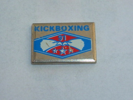 Pin's KICKBOXING 91 - Judo