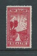 New Zealand 1933 Health Charity 1d Path To Health MLH , Traces Of Tone - Unclassified