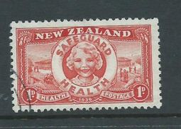 New Zealand 1936 Health Charity Issue Safeguard Health 1d VFU - Unclassified