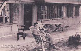 Gruss Aus Ins Berne , Kunstmaler Anker, Illustrateur Et Peintre Suisse (29.1.1911) Pli - Artistes