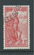 New Zealand 1937 Health Charity Issue 1d Rock Climber FU - Unclassified