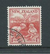 New Zealand 1938 Health Charity Issue 1d Children Playing FU - Unclassified