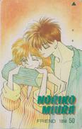 Télécarte Japon / 110-011 - MANGA - FRIEND By NORIKO MIURA - ANIME Japan Phonecard  BD COMICS TK -  Scheda Tel. - 9652 - BD