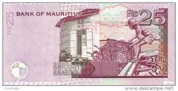 MAURITIUS P. 49d 25 R 2009 UNC - Mauritius