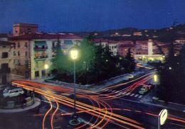 Poggibonsi - Siena - Piazza Mazzini - Notturno - 53 - Formato Grande Viaggiata – E 3 - Siena
