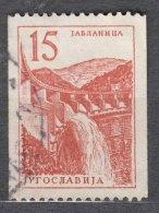 Yugoslavia Republic 1958 Industry And Architecture Mi#840 Used - Gebruikt