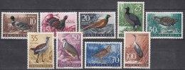 Yugoslavia Republic 1958 Birds Mi#842-850 Mint Hinged - 1945-1992 République Fédérative Populaire De Yougoslavie