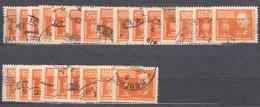 Yugoslavia Republic, President Tito 1945 Mi#468 Key Stamp Of The Set, 24 Pieces - Gebruikt