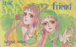 Télécarte Japon / 110-011 - MANGA - FRIEND By NAOMI NISHI - ANIME Japan Phonecard - BD COMICS Telefonkarte - 9662 - BD