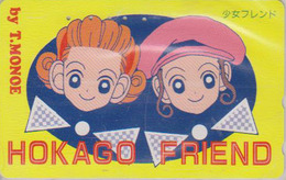 Télécarte Japon / 110-011 - MANGA - FRIEND By T. MONOE - HOKAGO - ANIME Japan Phonecard - BD COMICS Telefonkarte - 9664 - BD