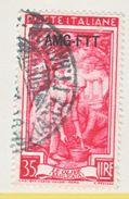 ITALY  TRIESTE  ZONA  A  AMG-FTT  101   (o) - Used