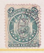 Bolivia 10   (o)  9  Stars   1868-9  Issue - Bolivia