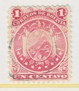 Bolivia   28   (o)     1890  Issue - Bolivia
