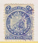 Bolivia   30   (o)     1890  Issue - Bolivia