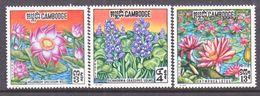 CAMBODIA  231-3    **    FLOWERS - Cambodia