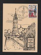 MAXIMUM CARD FRANCE Year 1970 JOURNEE DU TIMBRE  EVREUX Carte Maximum - Europe (Other)