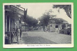 PC AFRICA SÃO TOME E PRINCIPE STREET SCENE 1906/1910s ! - Postcards