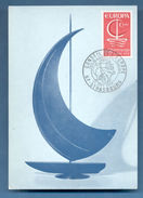 MAXIMUM CARD POSTCARD FRANCE 1967 EUROPA CEPT STRASBOURG CARTE MAXIMUM - Europe (Other)