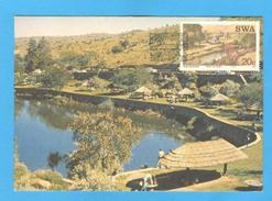 MAXIMUM CARD MAXICARD AFRICA SWA TOURISM TOURIST CAMPS - Stamps