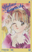 Télécarte Japon / 110-011 - MANGA - FRIEND By YUKARI KAWACHI - ANIME Japan Phonecard - BD COMICS TK - 9672 - Comics