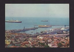 Postcard 1960years VENEZUELA PORT LA GUAIRA & BOAT BOATS SHIP SHIPS // Z1 - Postcards
