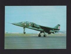 POSTCARD 1980 Years JAGUARD JAGUAR FIGHTER FRANCE AVIONS  AIRPLANES AIRCRAFT Z1 - Flugwesen