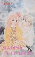 Télécarte Ancienne Japon / 110-011 - MANGA - FRIEND - MARINA & CHARLES ** ONE PUNCH ** - ANIME Japan Phonecard - 9674 - Comics