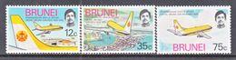BRUNEI   222-4  *  AERO  LINES - Brunei (...-1984)