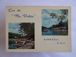 AFRICA REPUBLIQUE DEMOCRATIQUE DU CONGO LAC DE MA VALLÉE KIMWENZA 1960s PC Z1 - Postcards