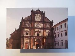 PC PORTUGUESE INDIA GOA BASILIC OF BOM JESUS PORTUGAL ARCHITECTURE HISTORY Z1 - Unclassified