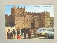 Pc  ISRAEL JERUSALEM DAMASCUS GATE Car Mercedes 70 - Postcards