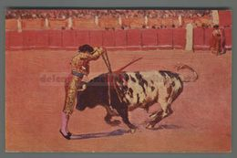 V309 CORRIDA Illustrazione M. BERTUCHI UN PAR DE FRENTE FP (m) - Corrida