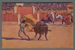 V311 CORRIDA Illustrazione M. BERTUCHI UN FAROL FP (m) - Corrida