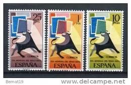 España 1965. Edifil 1667-69 ** MNH. - 1931-Hoy: 2ª República - ... Juan Carlos I