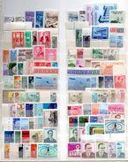 Türkei, 1946-1971, Kleine Sammlung Mit 100 Unterschiedl. Briefmarken, Postfrisch (16649E) - Other