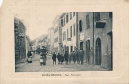 G137 - 66 - BOURG-MADAME - Pyrénées Orientales - Rue Principale - Autres Communes