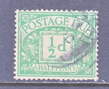 GREAT  BRITAIN  J 1  (o)  Wmk.  33  G.S. 100 - Postage Due