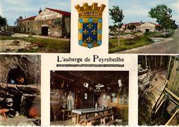 07---L'auberge De PEYREBEILHE---( Multivues  Blason )--voir 2 Scans - France