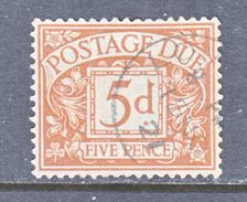 GREAT  BRITAIN  J 7  (o)  Wmk.  33  G.S. 100 - Postage Due