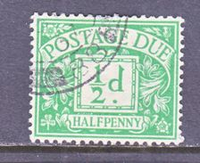 GREAT  BRITAIN  J 9  (o)  Wmk.  35  G.S. 111 - Postage Due