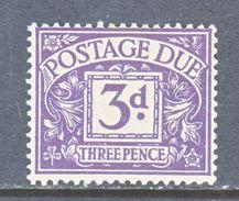 GREAT  BRITAIN  J 21   *    Wmk.  250  G.S. 125 - Postage Due