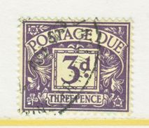 GREAT  BRITAIN  J 21   (o)    Wmk.  250  G.S. 125 - Postage Due