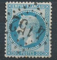 N°29 LOSANGE GRANDS CHIFFRES BELLE FRAPPE ( ET,OU VARIETE ). - 1863-1870 Napoléon III Lauré