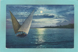 Old Postcard Of Sailing,Lac Leman,Lake Geneva,Switzerland,V37. - GE Geneva