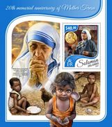 Solomon Islands 20th Memorial Anniversary Of Mother Teresa - Mother Teresa