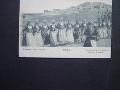 GREECE POSTCARDS  DANCE GREEK MEGARA - Grèce