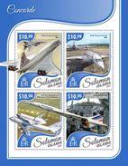 Solomon Islands 2017 Concorde - Concorde